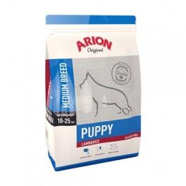 Arion Puppy Medium Breed Lam & Ris 12 kg.