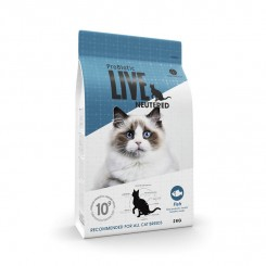 ProBiotic Live Adult Neutered Fisk 2 Kg.