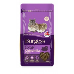 Burgess Chinchilla Nuggets 1,5 Kg.