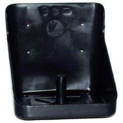 Slikstenholder firkantet sort 10 kg