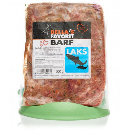 Bella's Favorit Barf 500g Laks