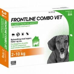 Frontline Combo Vet Hund 2-10 kg.