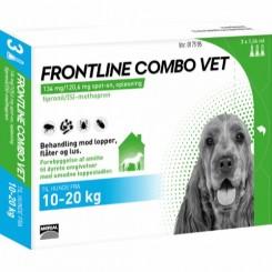 Frontline Combo Vet Hund 10-20 kg.