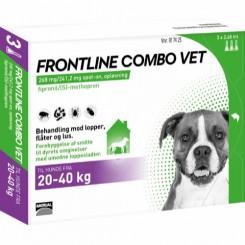 Frontline Combo Vet Hund 20-40 kg.