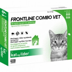 Frontline Combo Vet Kat/Ilder stk/pk.