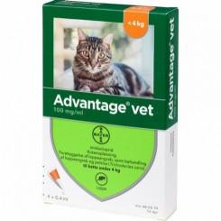 Advantage Vet Kat 0-4 kg.
