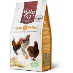 Hobby First Farm 3 Pellet 4 Kg.