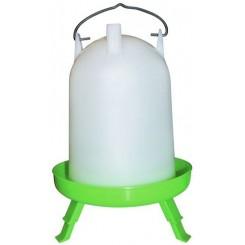 Cylinder Vander Grøn Med Ben 8 L.
